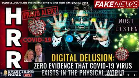 MIKE ADAMS   COVID-19 Doesn't Exist! There's No Sample Of It Anywhere...TRUTH BOMB! It's All A FRAUD