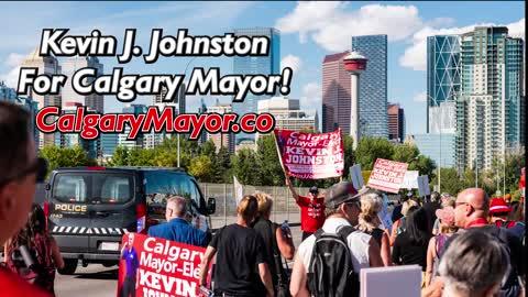 Kevin J. Johnston For Mayor of Calgary Platform!