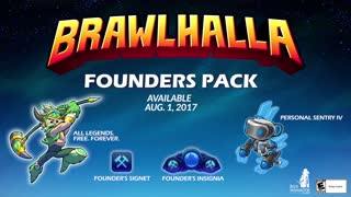 Brawlhalla Official Founders Pack Trailer