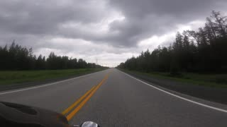 Motorcycle Ride in Northern Ontario
