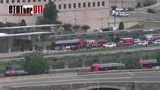 Pentagon on lockdown over reported shooting outside