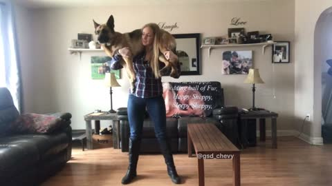 Dog Squats! Do you even lift?