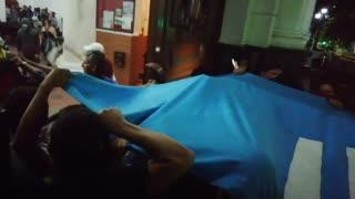 Marcha estudiantil terminó en enfrentamientos con la Policía