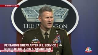 Pentagon Pressed On Casualties In Kabul