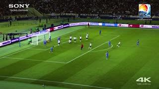 football in 4k ultra hd barcelona vs atletico madrid