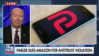 WATCH: Parler Sues Amazon For Kicking Them Off Servers