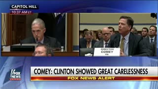 Here is a reminder when Gowdy grilled Comey over Clinton's 'false statements'