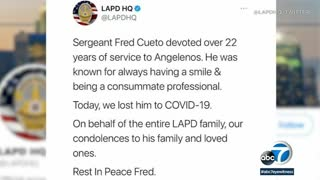 22-Year LAPD Veteran Sergeant Fred Cueto Dies From COVID Complications