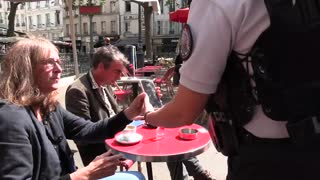 Police enforcing Vaccine Passports in France
