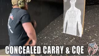 Concealed Carry & Close Quarters Engagements on Saturday 10-10-20