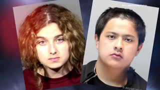 16 year old girl and boyfriend charged with killing her dad.