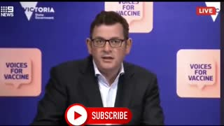 """Australian Premier Dan Andrews plans to """"lockout"""" unvaccinated citizens, We will Lock you Up"""