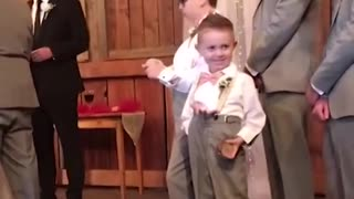 Want to add comedy to a wedding? - Ring Bearer Fails!