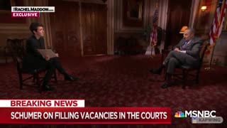 Chuck Schumer: Pack the Lower Courts