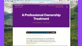 Introduction Professional Ownership Treatment From Twitch
