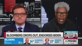 Cornell Belcher speaks on sudden support for Biden