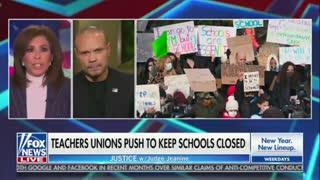 Bongino Says Biden Administration Are 'Cowards' Over Not Immediately Sending Kids Back To School