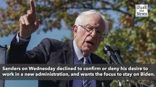 Bernie Sanders eyeing Labor secretary job if Biden wins, report