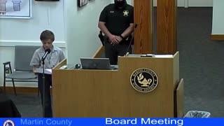 Ten Year-Old Calls Out School Board's Covid Hypocrisy