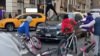 Thugs Attack A Son & Mother in NYC