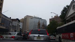 Drive Through Broad Street Newark, NJ