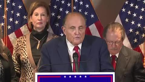 Trump's legal team press conference 2020-11-19