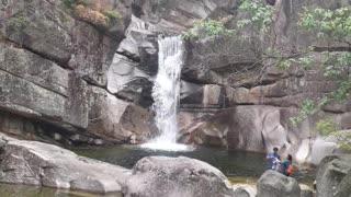 Gangwon-do waterfall