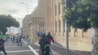 Ataque al palacio de Justica de Bucaramanga-Enfrentamientos