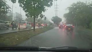Fuertes lluvias encienden las alarmas en Bucaramanga y el área