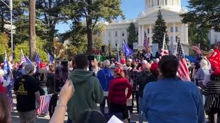 StopTheSteal _ California State Capitol Protest Sacramento, CA Week 4 November 28, 2020 IMG 2810