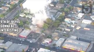 ((B00M)) LAPD Bomb Truck Blows Up While Disposing Fireworks On 27th Street And San Pedro