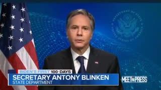 Secretary of state Blinken speech
