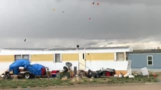 Tornado Whips Through Wyoming
