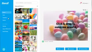 Simple Social Media Content - Create Images