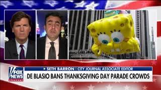 NYC mayor Bill de Blasio cancels Thanksgiving parade but allows BLM riots
