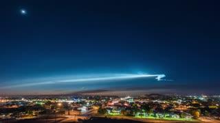 Space X Falcon 9 Rocket Launch