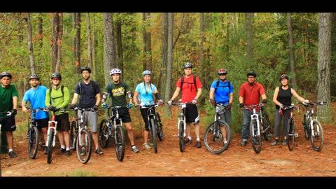 HROA MTB ride at Williamsburg