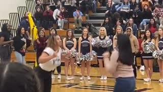 A dance video