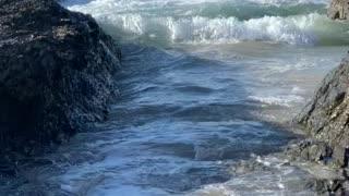 Sea water & Rocks