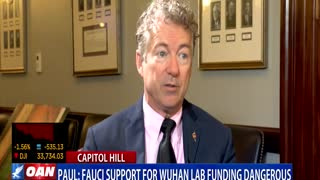 Sen. Paul: Fauci support for Wuhan lab funding dangerous