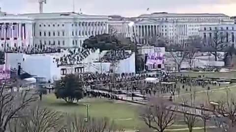 "Man Shares New Stunning Camera Angle of Joe's Bizarre ""Inauguration"""