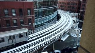 Chicago City Subway Train