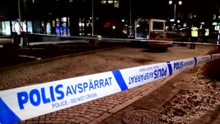 Swedish police raid apartment after knife attack