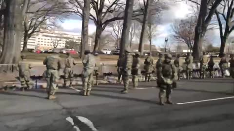 National Guard and Marines Turn Back on Biden