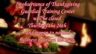 Closed for Thanksgiving 11/26