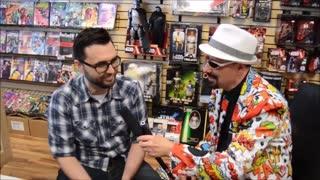 60 second video rewind: Interview of comic book artist Jason Fabok