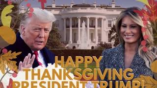 Happy Thanksgiving President Trump!