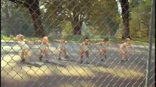 Child dance moment