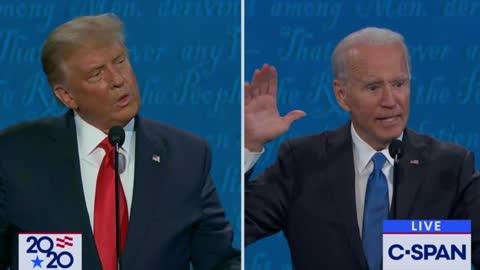 "Trump Corners Biden on ""Laptop From Hell,"" Biden Panics and Screams ""Russia!"""