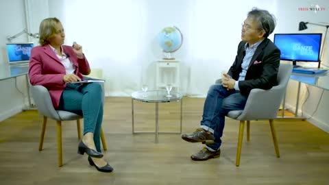 Ich bin in Sorge um Deutschland, Teil 1/2. Prof. Juei-min Huang bei Beatrix von Storch